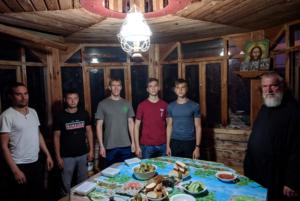 На подворье Аврамиева женского монастыря, п. Приазовский.